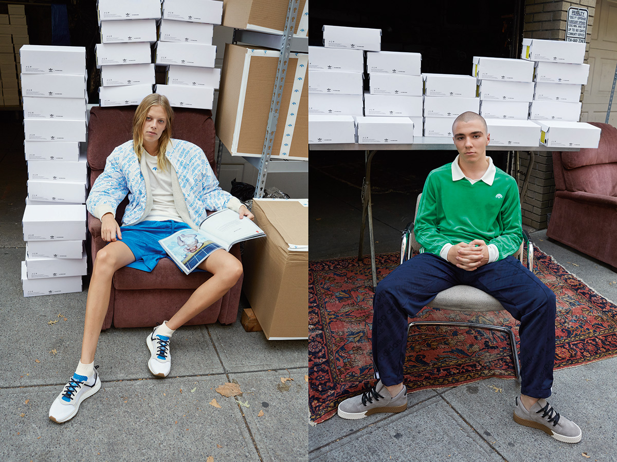 the latest c2ce2 98b17 On March 28th, the final images of a three part series for the adidas  Originals by Alexander Wang collection will be released.